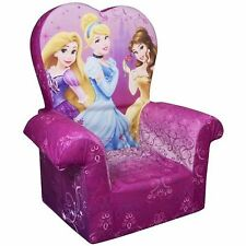 Chair Marshmallow Princess Disney Furniture Sofa Flip High Back Couch Girls