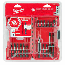 Shockwave 18-Piece Impact Screwdriver Bit Set by Milwaukee 48-32-4403
