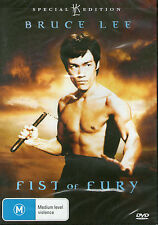 FIST OF FURY DVD Bruce Lee *NEW/SEALED* Region 4 Special Collectors Edition