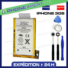 BATTERIE POUR IPHONE 3GS (3,7 V) + NOTICE + KIT OUTILS OFFERT