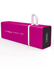 MIPOW Power Tube 3000 Rose Batterie 3000mAh pour iPhone et iPod