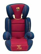 Official FCB Barcelona Navy & Red Child Junior Padded Car Booster Forward Seat