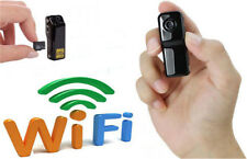 For Android iPhone PC Wifi IP Wireless Micro Spy Surveillance Camera Remote Cam