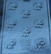 ELEPHANT BITES CHOCOLATE CANDY MOLD BABY SHOWER BIRTHDAY PARTY FAVORS CUPCAKE