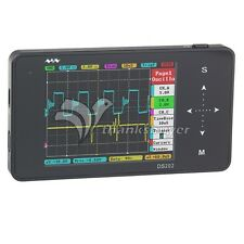 DS202 10Mps Pocket Handheld Oscilloscope Mini Display Full Color TFT LCD 320x240