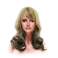 Women Sexy Big Wave Wavy Long Curly Hair Cosplay Costume Party Full Wig Lace
