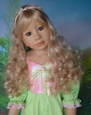 "Masterpiece Sleeping Beauty Blonde Wig, Fits Up To 20"" Head"