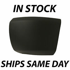 NEW Primered- Drivers Front Left LH Bumper End Cap For 2007-2013 Chevy Silverado
