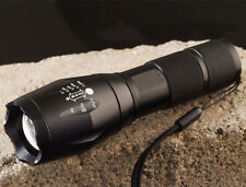 NEW E17 XM-L T6 2000 LUMENS ZOOMABLE POWER TORCH LED FLASHLIGHT OUTDOOR KIT TOOL