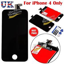 For Apple iPhone 4 LCD Touch Screen Display & Digitizer Retina Black Replacement