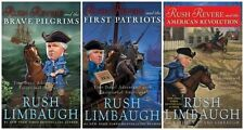 RUSH REVERE Series Hardcover Collection Set 1-3 Rush Limbaugh NEW FREE SHIPPING!