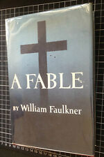A FABLE William Faulkner US 1st Ed hardcover HCDJ mylar dustjacket first edition
