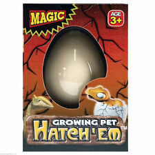 Hatch-em Hatching Dinosaur Egg Children Toy Gift Grows in Water, NEW