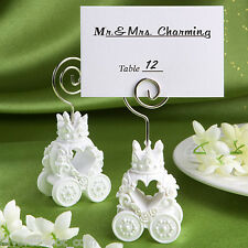 25 Royal Coach Design Place Card Holder Favors Weding Favor Fairytale