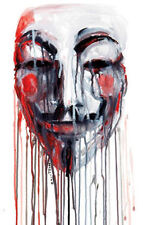Framed Print - Anonymous Computer Hacker (Picture Poster Firewall Virus Art)