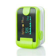 Finger Tip Pulse Oximete Alarm Oximetery Blood oxygen Monitor With Lanyard CE