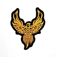 Phoenix Fire Bird Tattoo Biker Rocker Motorcycles Boxing T-Shirt Iron on Patch