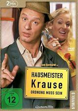 HAUSMEISTER KRAUSE STAFFEL 3  2 DVD NEU  TOM GERHARDT/AXEL STEIN/+