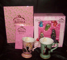 Lot of Disney  Art of Aurora LE Lithographs 2 Mugs Journal & Ornament all NEW!