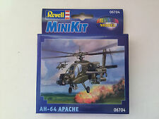 Revell Mini Kit 06704 Snap Together AH-64 Apache Helicopter-Brand New