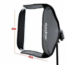 Godox 40x40cm Flash Softbox Diffuser f Camera Studio Flash fit Bowens Elinchrom