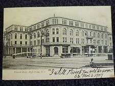 Early 1900's The Elwood Hotel in High Point, NC North Carolina PC
