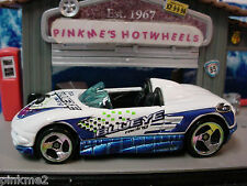 2000 SUPER TUNERS Design MX48 TURBO☆White/Blue☆Blueye Racing 6☆LOOSE☆Hot Wheels