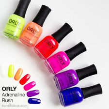 Orly Nail Polish Adrenaline Rush Summer Collection 6pcs/set .6oz 18ml