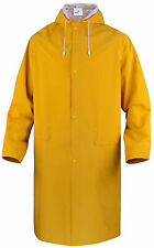 Delta Plus Panoply MA305 Outdoor Waterproof PVC Long Jacket Rain Mac Coat BNWT