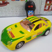 High Speed Remote/Radio Control Yellow Car, Good Toy For Kids
