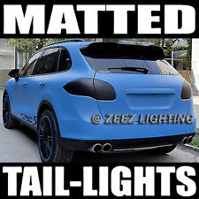 Black-Out Matte Taillight Tint Smoked Head Fog Tail Light Vinyl Tinted Film C03