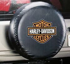 Harley Davidson HD bar shield atv suv motorcycle camper RV rear spare tire cover
