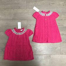 BNWT Gorgeous Ralph Lauren Cable Knit Dress RRP £100 18-24m 100%Genuine