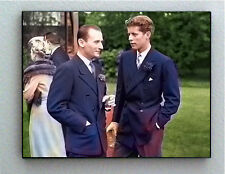 Rare Color Framed John F. Kennedy at 22 years old Vintage Photo. Giclée Print