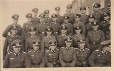 "Carte Photo Ancienne"" Militaires Ecole Officiers  Sous Officier inf  39/45 No 3"""