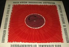 SOUTH AFRICAN BROADCASTING TRANSCRIPTION LP Music of South Africa BANTU MUSIC