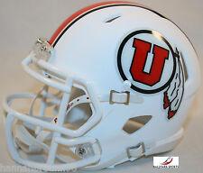 UTAH UTES (MATTE WHITE 2015) Riddell Speed Mini Helmet