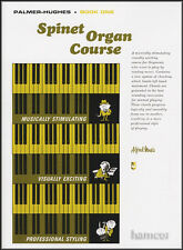 Palmer-Hughes Spinet Organ Course Book 1 Learn How to Play Method for Beginners