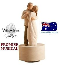 PROMISE MUSICAL MUSIC BOX Demdaco Willow Tree Figurine By Susan Lordi NEW IN BOX