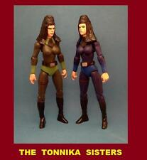 Custom Star Wars THE TONNIKA SISTERS Figures awakens clone rogue rebels cantina
