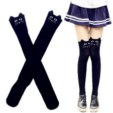 Women BlackLovely Cartoon Thigh Stockings 3D Animal Over Knee High Long Socks