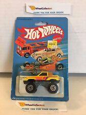 #4  Gulch Stepper 7532 Yellow * 1982 Hong Kong * Vintage Hot Wheels * H91