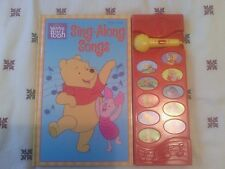 Disney's Winnie the Pooh Play-a-Song Sing Along Songs