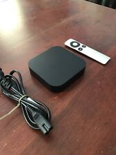 Apple TV 3rd Gen HD Media Streamer - With Power Cord, Remote