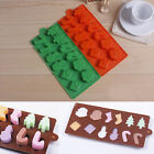 Xmas Tree Snowman Silicone Cake Candy Chocolate Decorating Mold Sugarcraft Mould