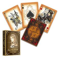 Alice Of Wonderland deck - Gold Poker Spielkarten