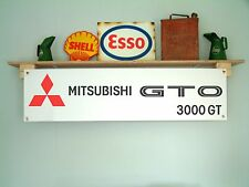 Mitsubishi GTO 3000GT - workshop garage banner sign