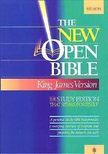 Holy Bible : The New Open Bible, Study Edition, King James Version Thomas Nelso