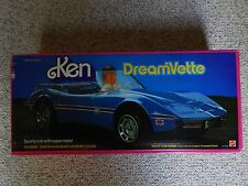 Vintage Mattel Barbie 1984 Ken Dreamvette Corvette Car #9033 New in box RARE!
