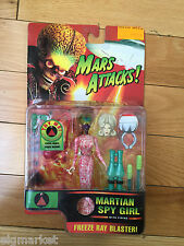 "1996 TRENDMASTERS MARS ATTACKS! MARTIAN SPY GIRL 6"" ACTION FIGURE"